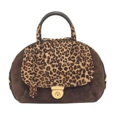 Leather Shoulder Bag SALVATORE FERRAGAMO Brown