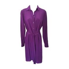 Midi Dress GUCCI Purple, mauve, lavender