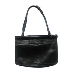 Leather Shoulder Bag DRIES VAN NOTEN Black