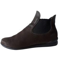 Bottines & low boots plates ARCHE Marron