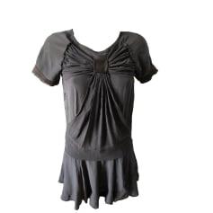 Mini Dress MAJE Gray, charcoal