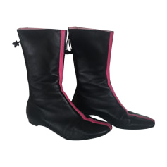 Flat Ankle Boots KENZO Black