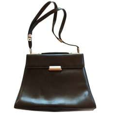Leather Shoulder Bag MANDARINA DUCK Black