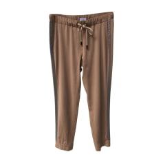 Pantalon droit BRUNELLO CUCINELLI Beige, camel