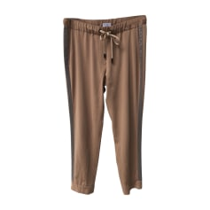 Straight Leg Pants BRUNELLO CUCINELLI Beige, camel