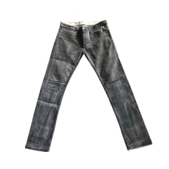 Straight Leg Jeans SANDRO Gray, charcoal