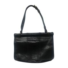 Leather Handbag DRIES VAN NOTEN Black