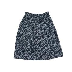 Midi Skirt SOEUR Blue, navy, turquoise