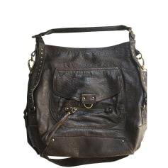 Leather Shoulder Bag ABACO Brown