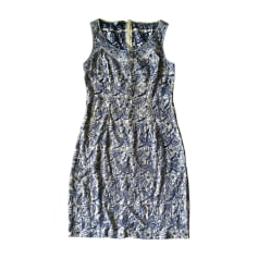 Midi Dress PRADA Blue, navy, turquoise