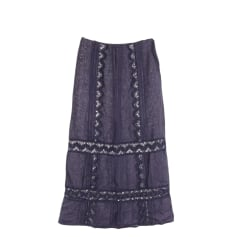 Maxi Skirt ERMANNO SCERVINO Blue, navy, turquoise