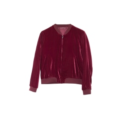 Zipped Jacket COMPTOIR DES COTONNIERS Red, burgundy