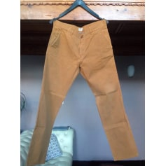 Pantalon droit PEPE JEANS Orange
