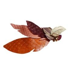 Orecchini GAS orange doré marron bronze
