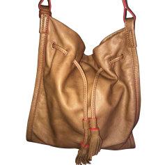 Leather Handbag FOSSIL Beige, camel