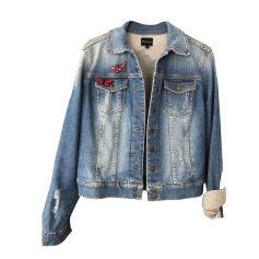 Zipped Jacket BERENICE Blue, navy, turquoise