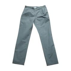 Pantalon droit LANVIN Kaki