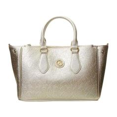 Leather Handbag CHRISTIAN LACROIX Silver