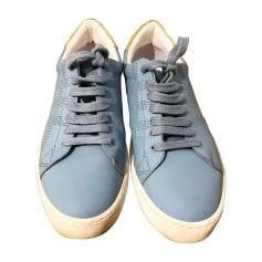 Baskets BURBERRY Bleu, bleu marine, bleu turquoise