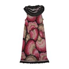 Robe courte MISSONI Multicouleur