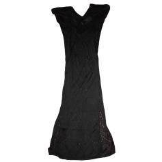 Robe mi-longue KAREN MILLEN Noir