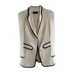 Tailleur jupe EMPORIO ARMANI Blanc, blanc cassé, écru