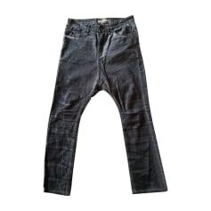 Skinny Jeans JOHN GALLIANO Gray, charcoal