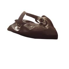 Leather Handbag FREE LANCE Brown