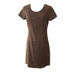 Mini Dress IKKS Brown