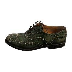 Chaussures à lacets  CHURCH'S Vert
