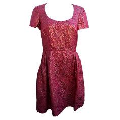 Robe courte ARMAND VENTILO Rouge, bordeaux