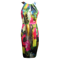 Robe courte MOSCHINO CHEAP AND CHIC Multicouleur