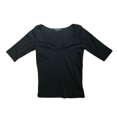 Top, tee-shirt AGNÈS B Noir