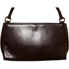 Leather Shoulder Bag FURLA Brown