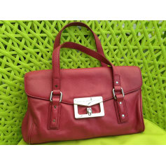 Leather Handbag Pink, fuchsia, light pink