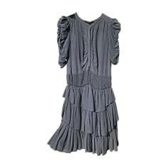 Mini Dress ISABEL MARANT ETOILE Blue, navy, turquoise