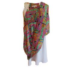 Mini Dress SANDRO fleurs style aquarelle