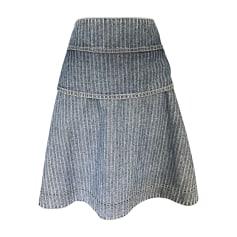 Denim Skirt SEE BY CHLOE Blue, navy, turquoise
