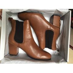 Bottines & low boots à talons TOPSHOP Marron