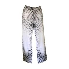 Straight Leg Jeans JUST CAVALLI White, off-white, ecru
