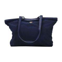 Borsetta in tessuto BOTTEGA VENETA Blu, blu navy, turchese