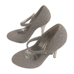 Mary Janes DOLCE & GABBANA Silver