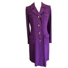 Manteau MILLY Violet, mauve, lavande