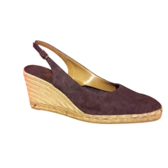 Wedge Sandals CASTANER Purple, mauve, lavender