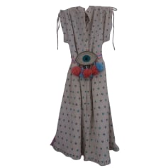 Midi Dress MANOUSH Beige, camel