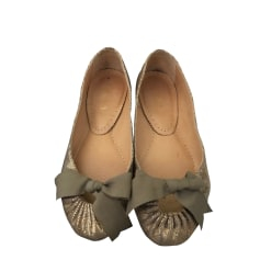 Ballet Flats MALOLES Golden, bronze, copper