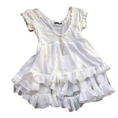 Top, T-shirt MARITHÉ ET FRANÇOIS GIRBAUD White, off-white, ecru