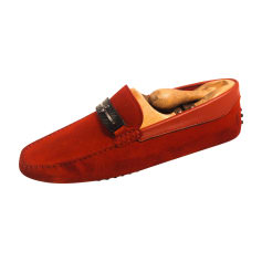 Mocassins TOD'S Rouge, bordeaux