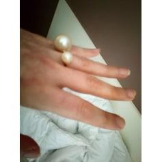 Ring ERMANNO SCERVINO Golden, bronze, copper