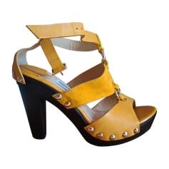 Sandales à talons JIMMY CHOO Jaune
